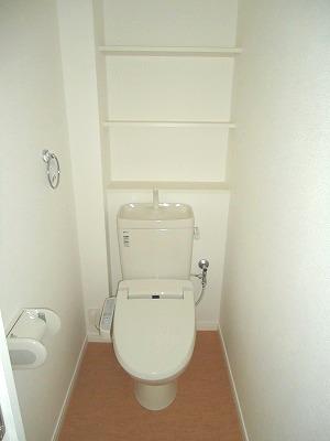 イースト フィールド那の川 / 802号室トイレ