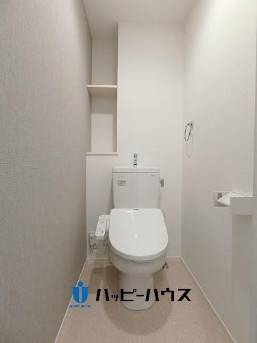 ※仮称)今泉1丁目ビル / E-501号室トイレ