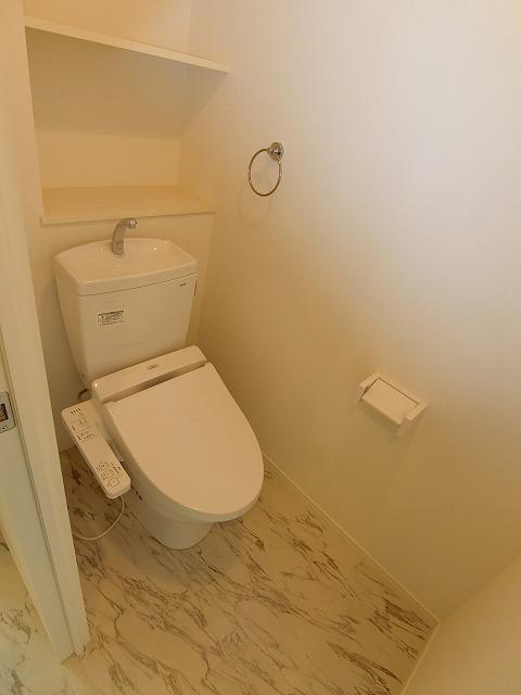 ヒルズ薬院 / 603号室トイレ