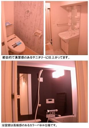 トラント・ドゥ博多 / 505号室洗面所