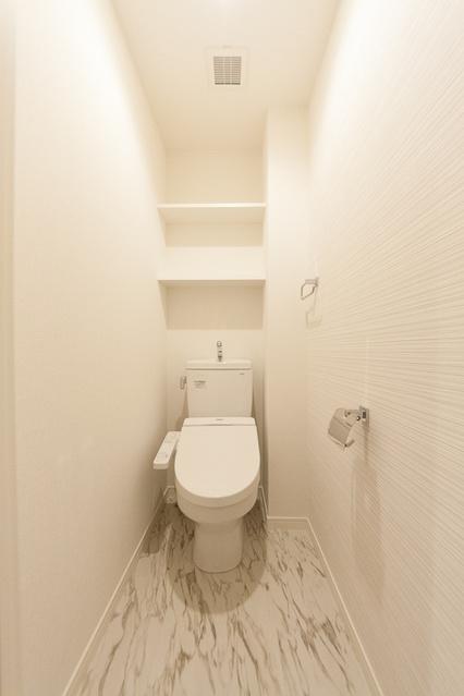 シャトレ平尾浄水町 / 101号室トイレ