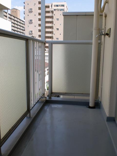 シティハイツ高宮 / 401号室バルコニー