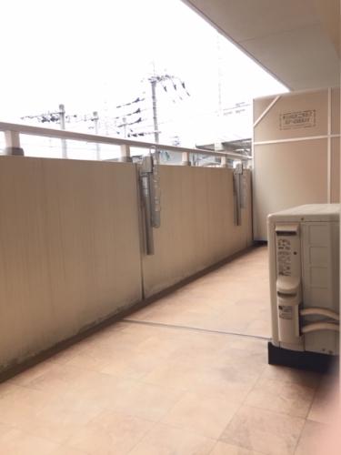 トラント・ドゥ博多 / 403号室バルコニー