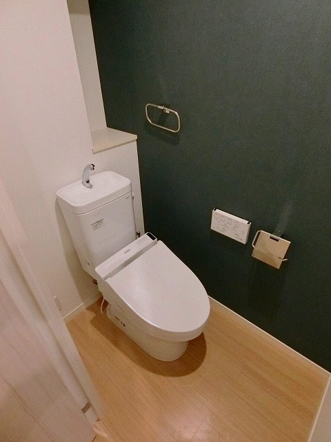 ラフィーネ大手門 / 306号室トイレ