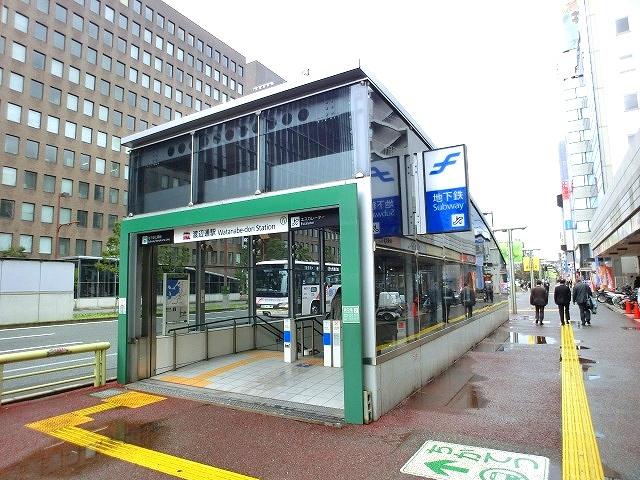 最寄駅。地下鉄七隈線『渡辺通駅』。六本松・福大方面にアクセス良好!!